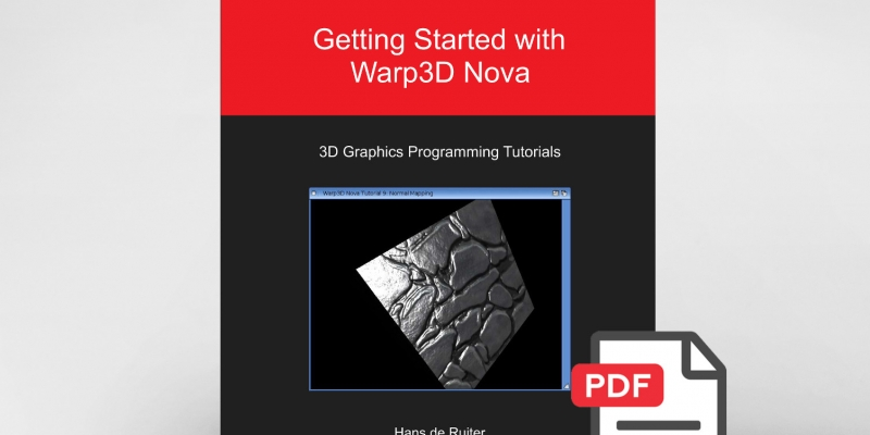"""Getting Started with Warp3D Nova"" Tutorials Also Available in PDF Format"