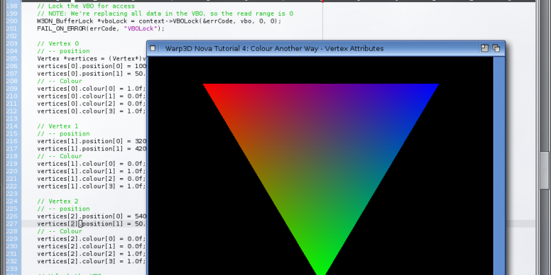 Warp3D Nova - Colour Another Way - Vertex Attributes
