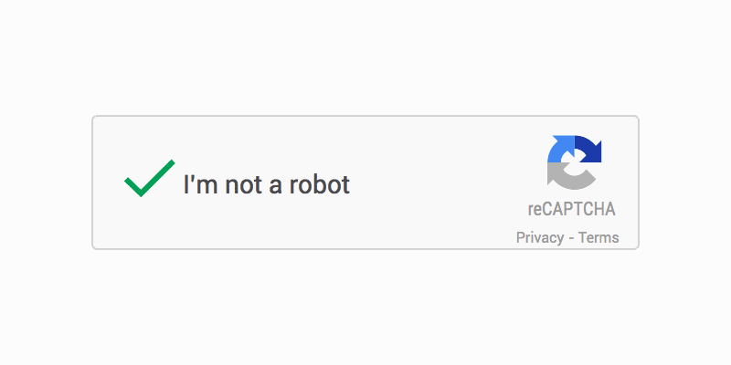 Switching to Google's reCaptcha