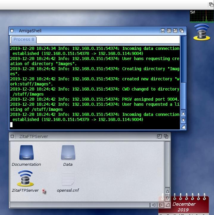 ZitaFTP Server - Docky